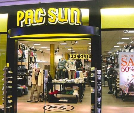 pacsun店舗