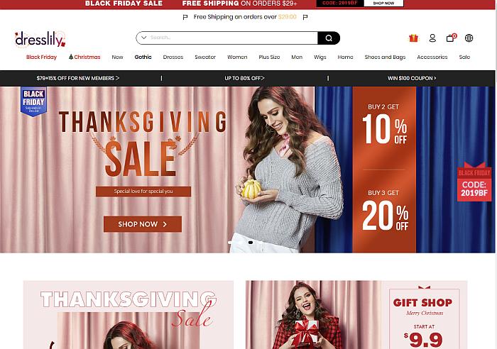 DressLily: Best Shein Alternative Sites